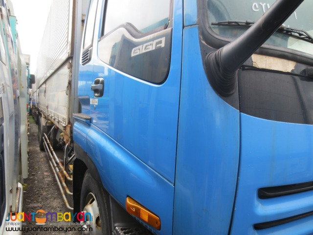 Blue Isuzu 10PE1 Engine 10Wheeler Dump TruckJPN Surplus