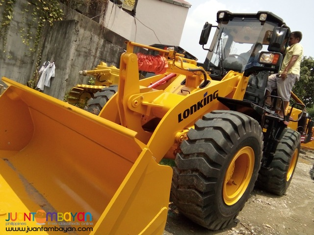 Lonking CDM835 1.8m3 Bucket Capacity Wheel Loader Brand New Sale