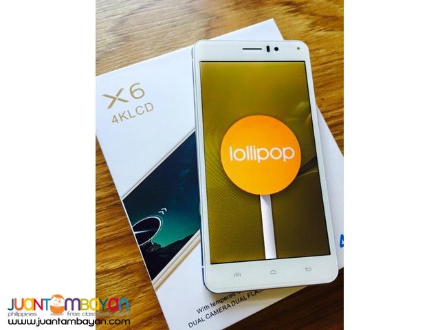 LENOVO VIBE X6 DUALFLASH QUADCORE CELLPHONE /MOBILE PHONE