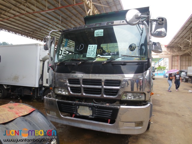 Chrome Black Isuzu 10PE1 Engine 10W Dump Truck JPN Surplus