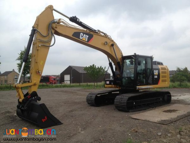 CATERPILLAR 320D 0.8m3 Hydraulic Excavator/Backhoe J.Surplus