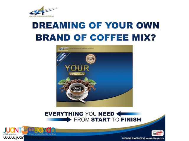 Private label your own brand of Coffee Mix