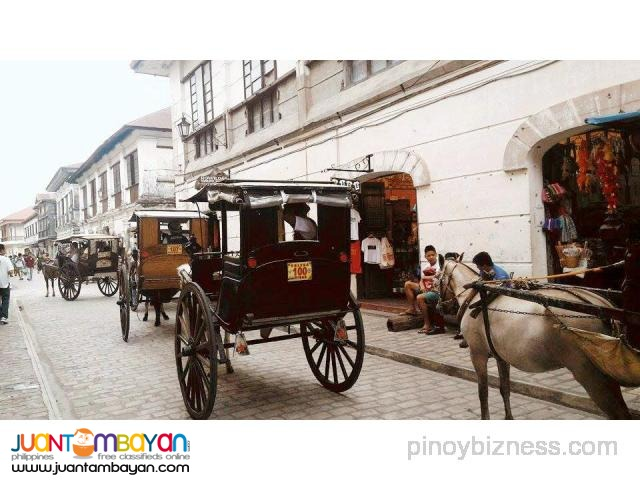 Ilocos tour package, with Vigan tour