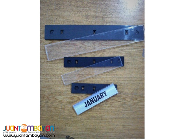 Name Plate Template / Signage