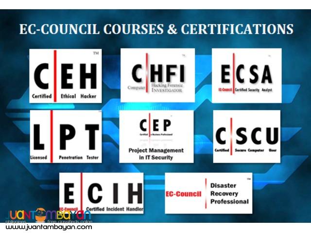 EC-COUNCIL COURSES & CERTIFICATIONS SCHEDULE