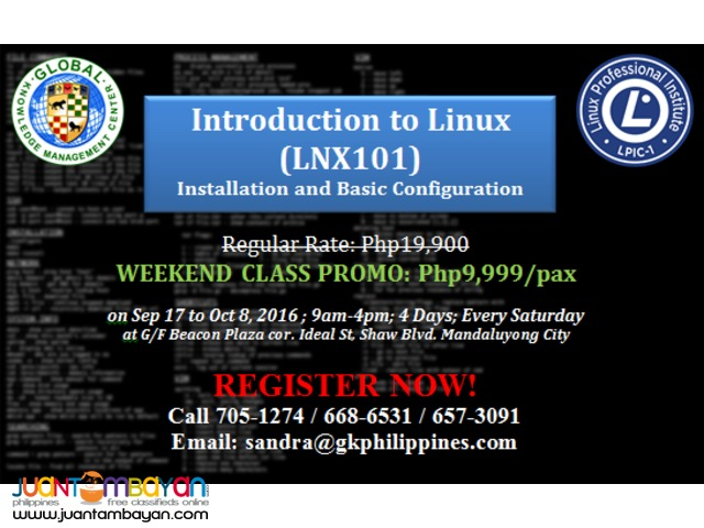 Linux 101 Training