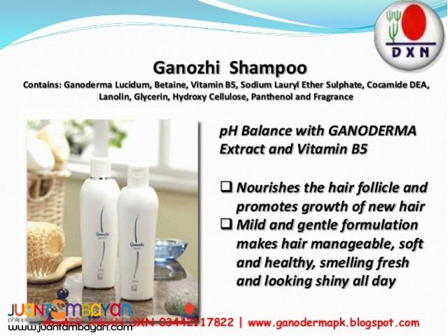 dxn ganozhi shampoo; best for loosing hair