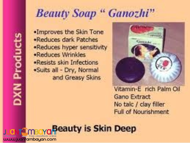 dxn ganozhi soap; best for moisturizing skin