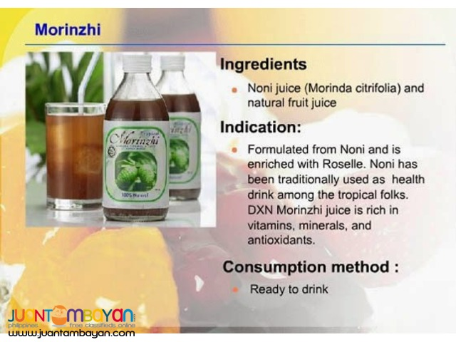 dxn morinzyme ; best for colon problem