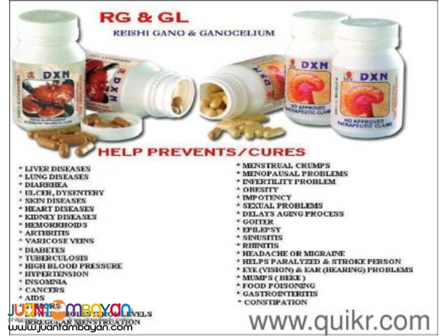 dxn rg gl ; best food supplements for cancer