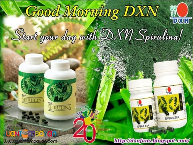 dxn spirulina; the super food best for malnourished