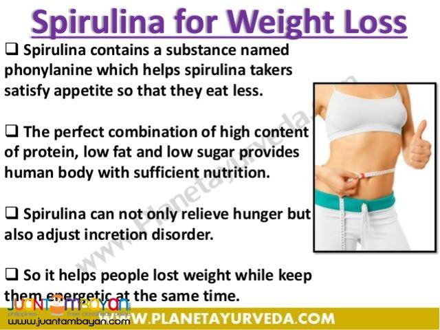 dxn spirulina; the super food best for malnourished