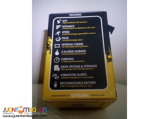 Soleus Unisex GPS Vibe Black/Yellow Watch