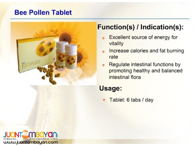 dxn bee pollen ; best for skin blooming and weight loose