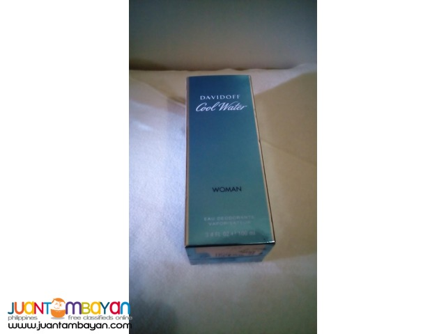 DavidOff Cool Water (Women 100mL)