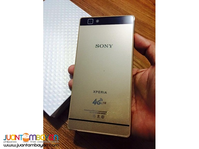 SONY XPERIA P8 CLASSIC SLIM QUADCORE CELLPHONE /MOBILE PHONE - 5,335