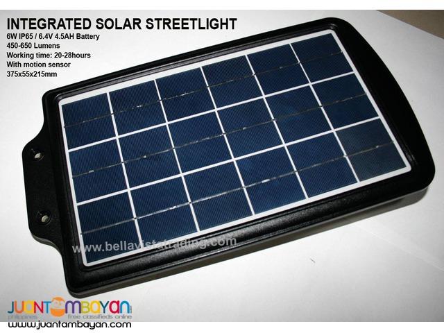6W IP65Integrated Solar Streetlight