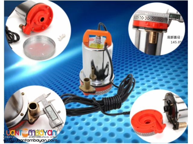 Portable Heavy Duty DC Submersible Water Pump
