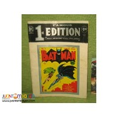 DC comics BATMAN Ist edition 1975 re-release (comic -magazine)