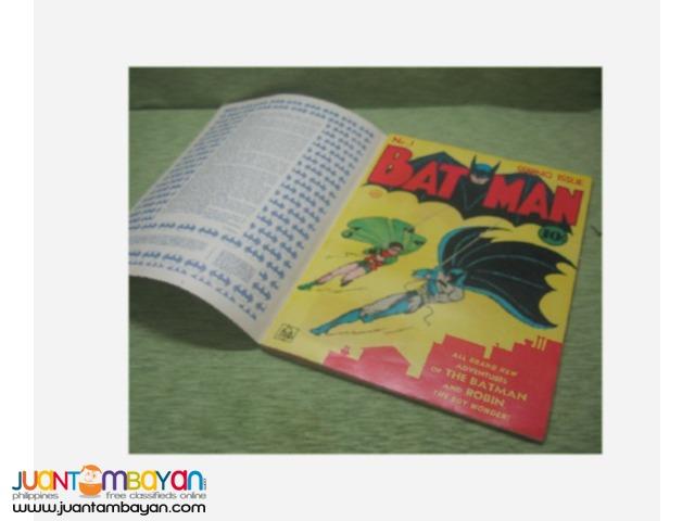 DC comics BATMAN Ist edition 1975 re-release (comic -magazine)