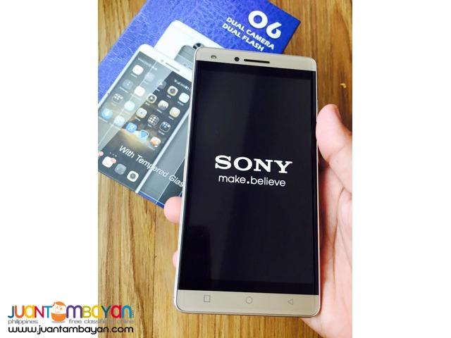 SONY XPERIA O6 DUAL FLASH QUADCORE CELLPHONE / MOBILE PHONE