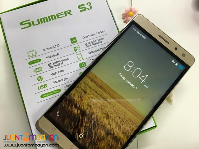 SONY SUMMER S3 BEAM QUADCORE CELLPHONE / MOBILE PHONE