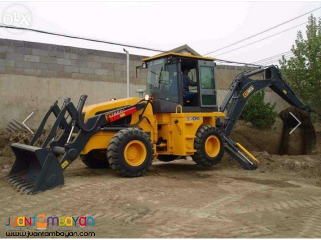 XCMG Backhoe Loader Model: XT860 (0.9m3 Bucket / 0.25m3 Digger)