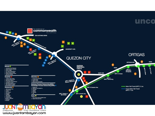 STUDIO UNIT FOR SALE!!! in The Commonwealth Residences, QC