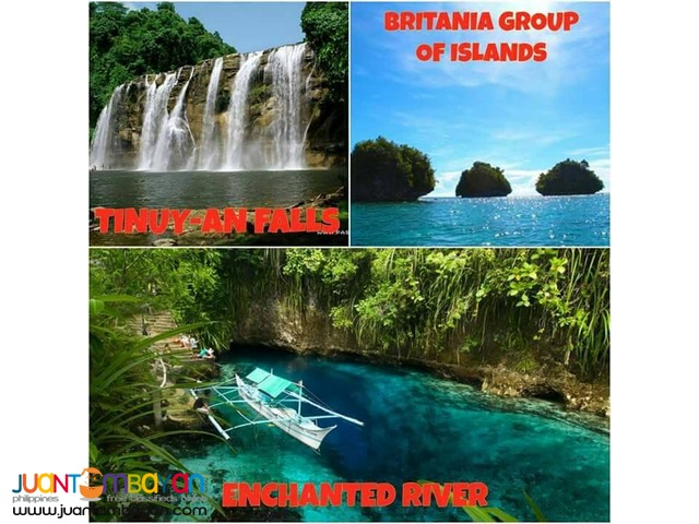 2D1N Surigao del Sur package tour 2016