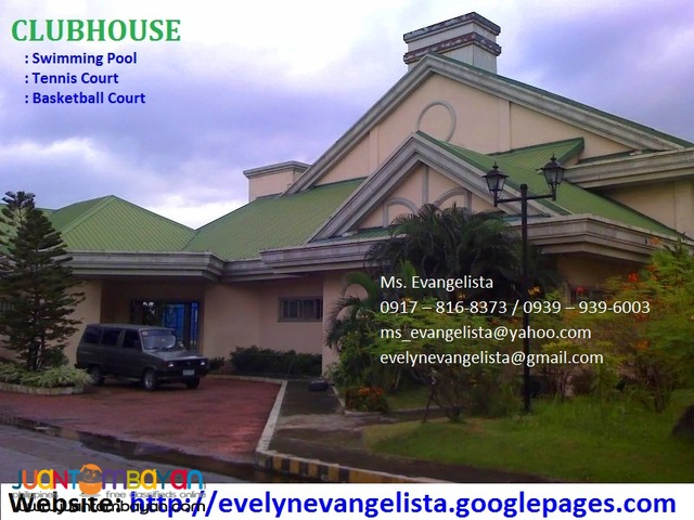 For sale - Cainta Greenland Exec. Village Phase 8A1 @ P 6,900/sqm.