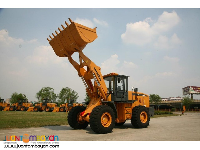 BRADNEW CDM860 Wheel Loader 3.5m3 Capacity Rated PayLoad 6Tons