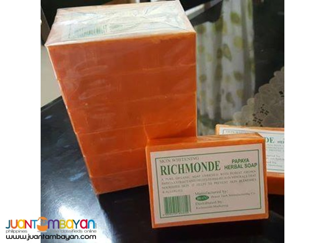 richmonde papaya soap