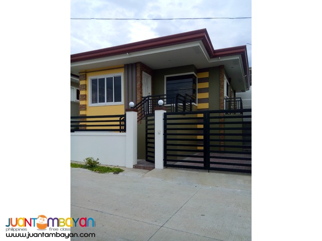 bungalow house& lot in orchid hills residence near in  airport