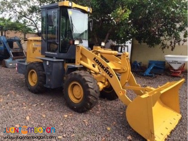 Efficient unit!  CDM816 wheel loader!
