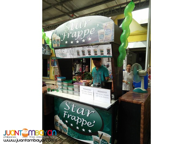 Star Frappe' Farron Coffee Foss Coffee Franchise P49,000