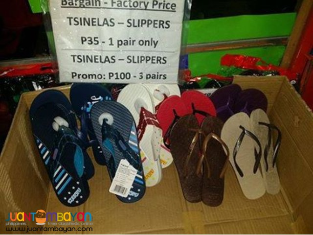 Slippers for 35pesos ONLY