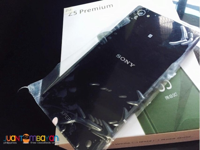 SONY XPERIA Z5 PREMIUM CELLPHONE / MOBILE PHONE - LOT OF FREEBIES