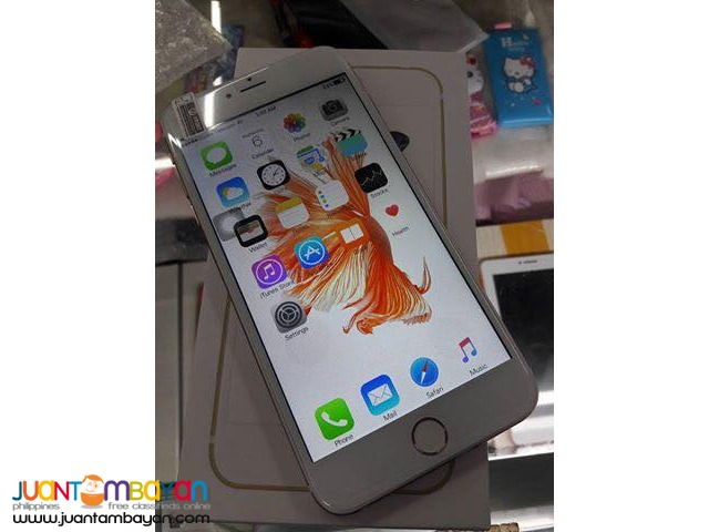 IPHONE 6S DUALCORE CELLPHONE / MOBILE PHONE - LOT OF FREEBIES
