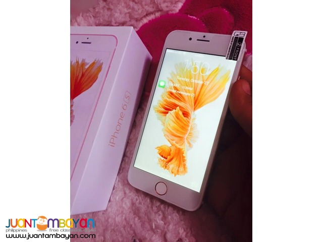 IPHONE 6S QUADCORE CELLPHONE / MOBILE PHONE - LOT OF FREEBIES