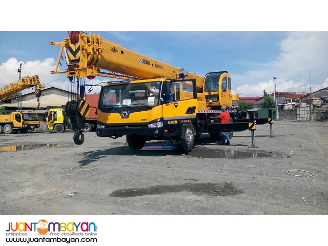 QY25K-II Tower Crane XCMG (Operating Weight 25tons)