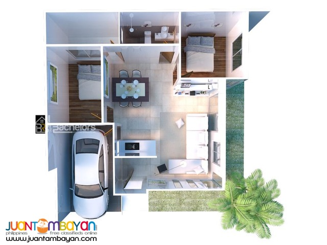 House Single Detached  as low as P12,233k monthly Amort in Cebu