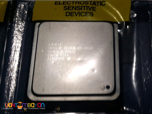 Intel Xeon Processor E5-2620 6 Cores 2.00 GHz