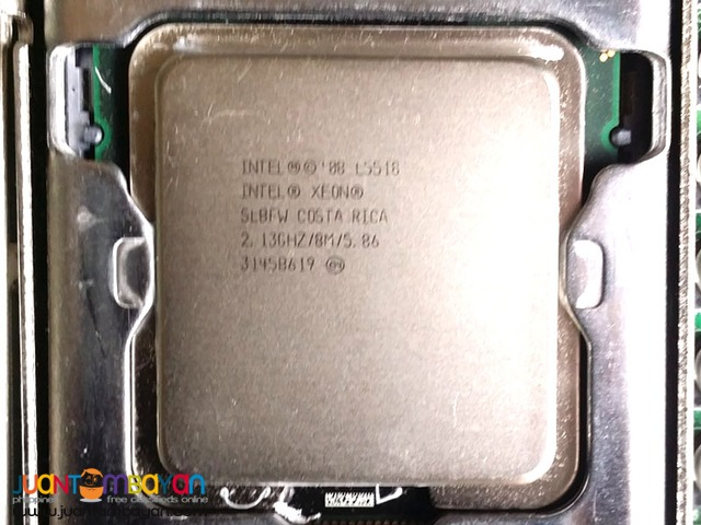 Server Board with Dual Xeon L5518 and 64GB Memory