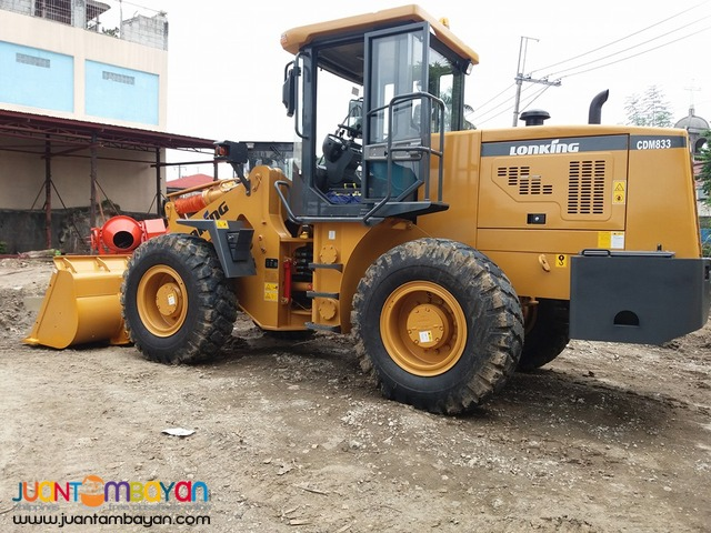 Wheel Loader CDM833 1.7m3 Capacity Operating Weight 10.3Tons