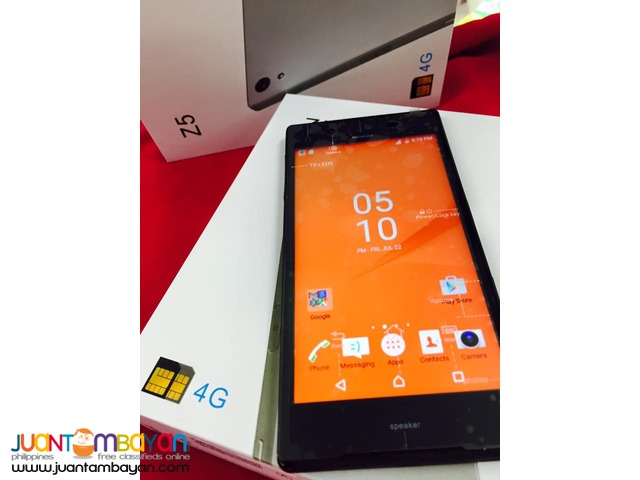 SONY XPERIA Z5 QUADCORE CELLPHONE / MOBILE PHONE - LOT OF FREEBIES