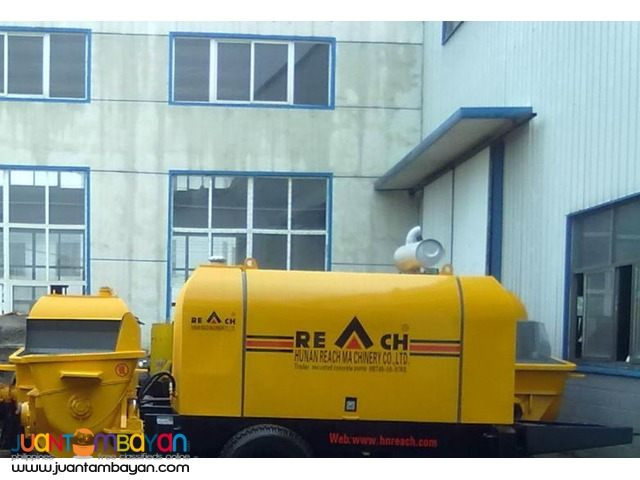 Portable Concrete Pump    (60m-6floor high) (Hopper Capacity 700L)