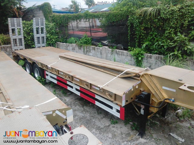 Two-Axle Lowbed Semi-Trailer 45Tons (Brand New)