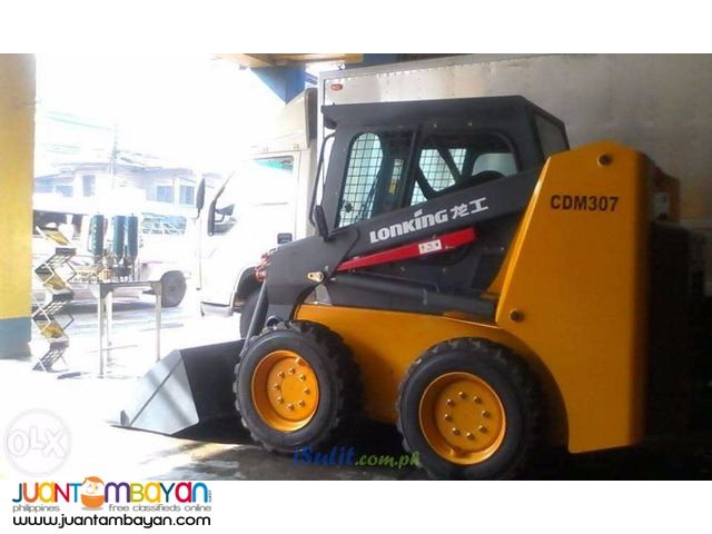 Brand New! Lonking CDM307 skid loader!