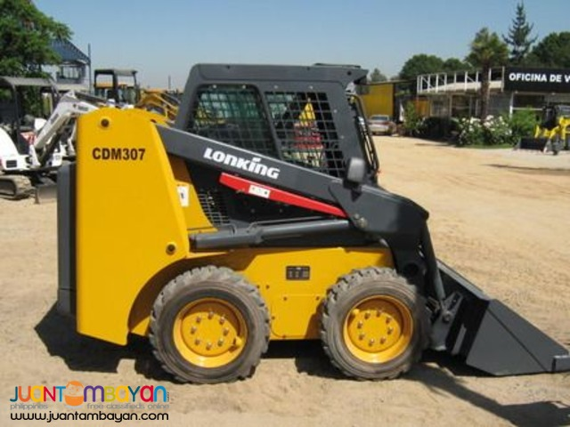 Brand New! Lonking CDM307 skid loader!