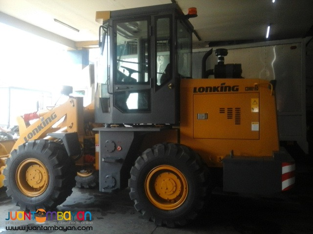 CDM816 Wheel Loader .95m3 Capacity Rated PayLoad: 1.6Tons